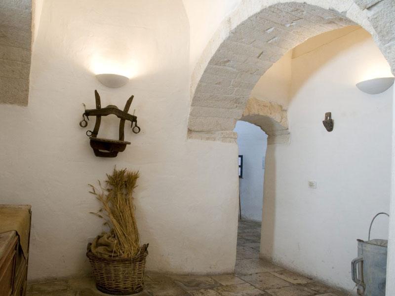 La cucina secondaria trullo sovrano casa museo alberobello - La cucina di aria ...